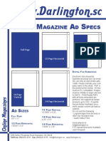 Darlington Magazine Ad Specs