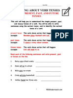Grammar Simple Verb Tenses