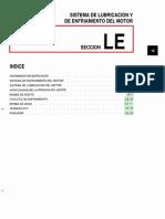 047[Manual] Nissan Tsuru 91-96 - Serie B13 Motor SR20DE Con ECCs (Suplemento) - Sistema de Lubricacion y de Enfriamiento Del Motor