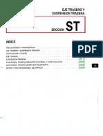 052[Manual] Nissan Tsuru 91-96 - Serie B13 Motor SR20DE Con ECCs (Suplemento) - Eje Trasero y Suspension Trasera