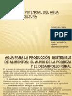 Descubrir El Potencial Del Agua Para La Agricultura