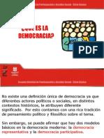 Democracia y ciudadanía