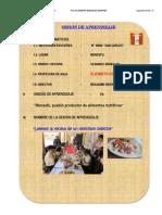 Sesion Aprendizaje El Cebiche-i.e. San Carlos Monsefu