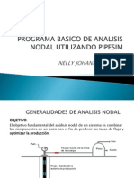 Programa Basico de Analisis Nodal Utilizando Pipesim