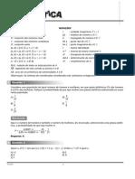 Matematica 2008