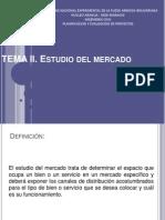 UNIDAD II. Estudio Del Mercado