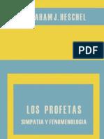Los Profetas III - Simpatia y Fenomenologia