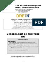 METODOLOGIE-ADMITERE-FDSA-13.06.2012