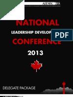 NLDC 2013 Delegate Package
