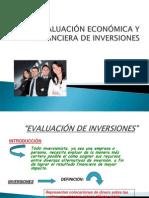Eva Luac i on Economic a de in Versiones