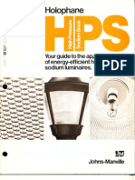 Holophane HPS High Pressure Sodium Book 10-75