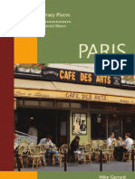 [Mike Gerrard, Harold Bloom] Paris (Bloom's Literary Places]