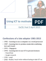 ExCEL 2013 ICT for Writing.pptx