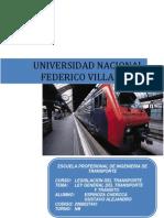 Ley General de Transporte y Transito