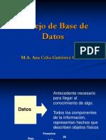 Las Base de Datos Relacionales