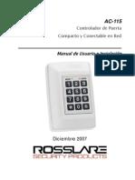 AC-115 Hardware Manual 020108 - Spanish