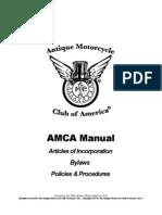 AMCA Policies and Procedures Manual 2013