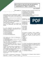 Administração Prova_de_Administracao_Maio2010