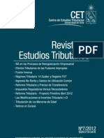 Revista Estudios Tributarios 7