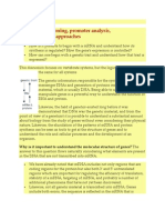 Genomic Cloning Promoter Analysis Genetics Approach