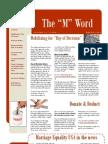 MEUSA Newsletter March 2009