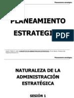Sesión 1-Planeamiento Estratégico