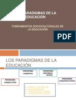 Fund.socioculturales de La Ed