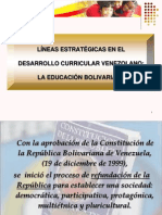 Lineas Curriculares Mppe