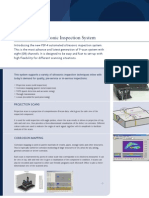 Automated Ultrasonic Inspection System