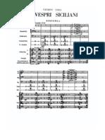 Verdi Vespri Overture