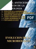 Unidad Ib. Antecedentes Historicos de La Microbiologia