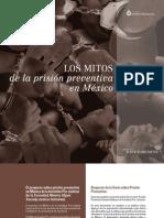 Mitos Prision Preventiva Mexico