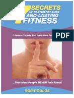 7 SECRETS OF FASTER & LASTING FAT LOSS & FITNESS