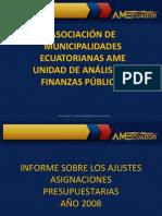 Presentacion Municipios Reuniones de Trabajo