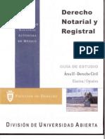 Derecho Notarial y Registral AreaII-Derecho Civil