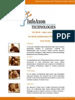 InfoAxon Case Study YesBank Issue