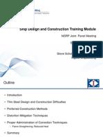 2011 Ship Design Construction Training-Final-presentation