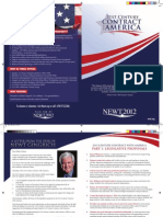 Newt 2012 - 21st Century Contract With America Brochure