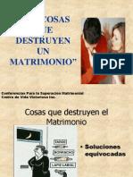 Las Cosas Que Destruyen El Matrimonio2492