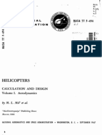 Helicopters - Calculation and Design - Aerodynamics