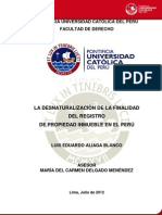 Aliaga Blanco Luis Desnaturalizacion Registro