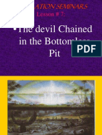 Lesson 7 Revelation Seminars -The Devil Chained in the Bottomless Pit