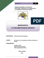 La Psicomotricidad Infantil (3).Docx Reciente