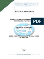 DISEÑO Y CONSTRUCCION DE UN VEHICULO AÈREO NO TRIPULADO