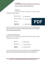 Lecture Persamaan Maxwell Bentuk Diferensial