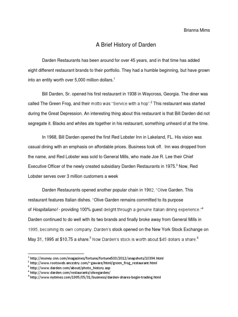 darden essays