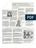 Reconstruction Newsletter 2011