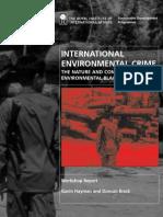 02544 Environmental Crime Workshop