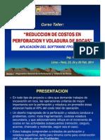 i. Diagnostico General de La Perforacion y Voladura de Rocas