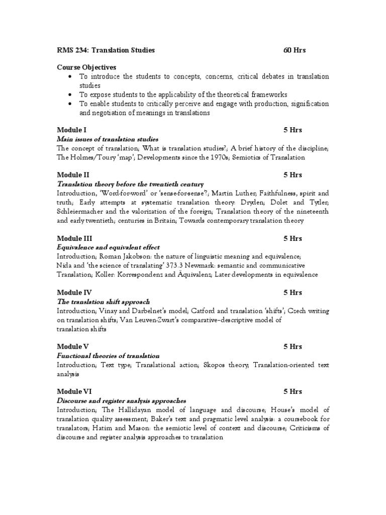 Translation Concept Map.Translation Studies Translations Truth
